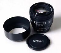 Nikon 85 1.8 afd lens GREAT CONDITION!