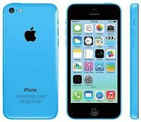 brand new sealed in box iPhone 5C BLUE with Telus 8GB FIRM PRICE