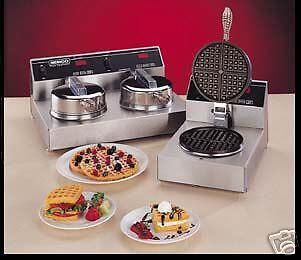 NEMCO #7000-2S240 DUAL WAFFLE  BAKER MACHINE MAKER