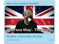 Elly Space: Theresa May - The Song (MP3)