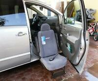 Nearly new TURNY car seat for handicapped