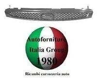 GRIGLIA RADIATORE CROMATA MASCHERA ANTERIORE FORD FIESTA 02/>05 DAL 2002 AL 2005