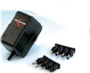 Ansmann AC48 Battery Pack Charger Plug-In Universal NiCd NiMH 4.8 - 9.6V 5507113