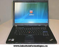 Laptop computer / ordinateur portable Lenovo T60-T61-T400-R400