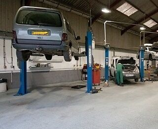 The same workshops have been used since I started the car business