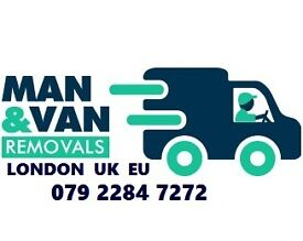 Cheap Man and Van London House Removals Office Moving Van London Man with Van Couriers Delivery
