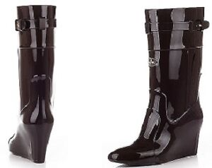 Brand new never worn Wedges rain boots West Island Greater Montréal image 1