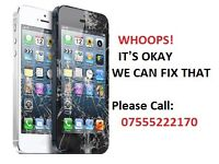 I can fix your iPhone broken screen 4/5/6/6s/6 plus.. it takes 10 min