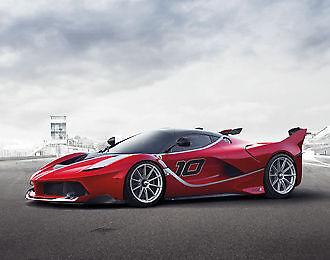 Press photo by Ferrari