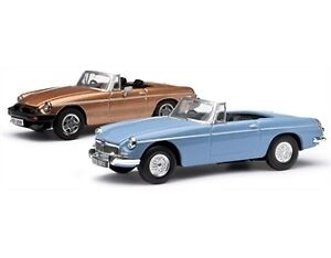 Corgi Diecast Car -Vanguard -MGB 50th Anniversary Set - 1:43 - MG1002