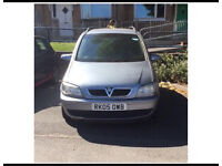 Vauxhall zafira 1.6 for sale