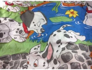 Disney 101 Dalmations Twin Bed Sheet Set 4 Pieces Fitted Flat London Ontario image 6