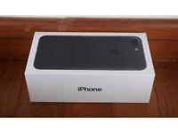 Iphone 7 32GB Matt black unlocked boxed
