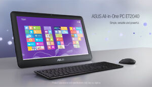 ASUS ET 2040 All-In-One Desktop computer w/keyboard & Mouse