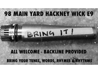 BRING IT! OPEN MIC NIGHT: HACKNEY WICK