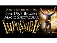 WEST END **IMPOSSIBLE** WORLD FAMOUS GREATEST MAGIC SHOW LIVE ON STAGE BARGAIN PRICE!