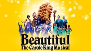"""TWO tickets to """"Beautiful: The Carole King Musical"""""""