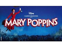 Mary Poppins 2 tickets Theatre Royale / 29th Oct