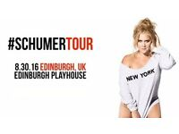 2 x Amy Schumer tickets - face value o.n.o