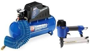 Campbell Hausfeld 3 Gallon Air Compressor with 2-in-1 Nailer