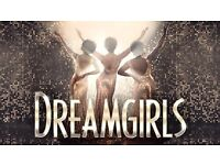 3 matinee tickets for the incredible award-winning DREAMGIRLS theatre show!