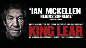 KING LEAR Fri 7th Sept 7pm 3xSTALLS tickets Duke of York's Theatre SOLD OUT show