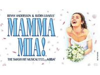 Mamma Mia tickets for Edinburgh playhouse