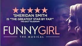4 VIP Tickets 'Funny Girl' Row C, Centre Stalls, Bristol Hippodrome, Thu, 23/03/2017, 19:30 GMT