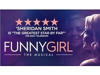 4 VIP Tickets 'Funny Girl' Row C, Centre Stalls, Bristol Hippodrome, Thu, 23/03/2017, 19:30 GMT