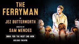 2 prime the ferryman theatre tickets this Saturday 16/12/17