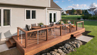 Outdoor carpentry projects. Plan design budget and build.