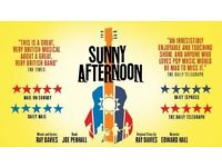 2 Sunny afternoon musical tickets - Nottingham Roayal 28/01/17