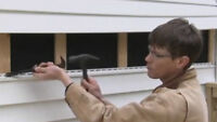 Can you replace a piece of broken siding?
