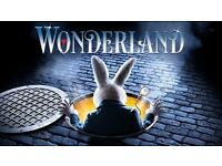 Wonderland Musical at Edinburgh Playhouse (Mon 23 Jan- Dress Circle)
