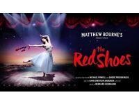2 x Tickets Ballet Bristol Hippodrome, Bristol: The Red Shoes – Matthew Bourne/New Adventures