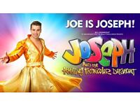 Joseph and the amazing technicolor dreamcoat tickets x2