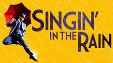 Singin in the Rain  Sydney 6 August 8.00pm 4 x fantastic seats Earlwood Canterbury Area Preview