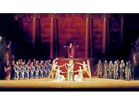Opera Tickets (x2) for Nabucco - Edinburgh Playhouse Friday 31st March