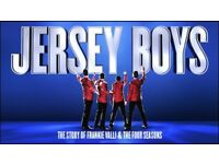 2 x £54 each Jersey Boys Kings, Glasgow Face value front stalls Jersey Boys Kings Glasgow Fri 13 Apr