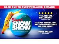 Slava's Snow Show @ Bristol Hippodrome: 4 x Stalls Tickets