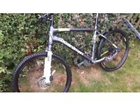 Boardman mountain bike hybrid bike
