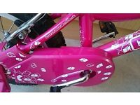 Girl's bike ages 3-6 - excellent condition (pink)