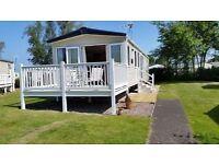 3 Bedroom luxury caravan to rent Seton Sands Holiday Park East Lothian Scotland