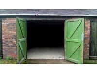 Garage storage lock up unit. 200 sq ft (18ft x 11ft ) East Didsbury, Manchester.