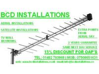 BCD AERIAL AND SATELLITE INSTALLATIONS