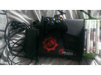 xbox 360 console slim black 250gb