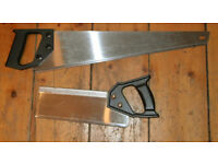 Used hand saws