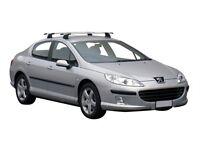 Peugeot 407 saloon roof bars