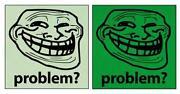 Troll Face Sticker