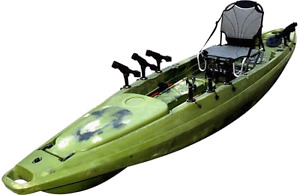 BRAND NEW MAVERICK RUDDER FISHING KAYAK W/ FREE PADDLE